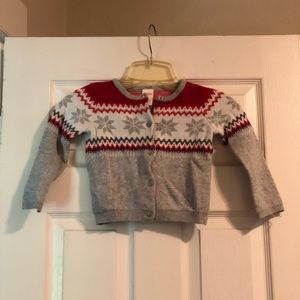 Cozy sweater for babies